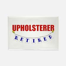 Retired Upholsterer Rectangle Magnet