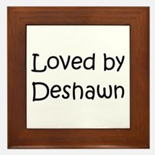 Cute Deshawn Framed Tile