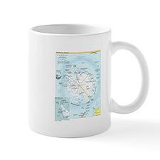Antarctic Antarctica Map Mug