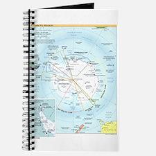 Antarctic Antarctica Map Journal