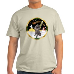 Night Flight/Silver Poodle T-Shirt