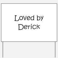 Funny Derick Yard Sign