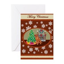 Classic Irish Setter Greeting Cards (Pk of 10)
