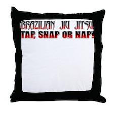 Brazilian Jiu Jitsu - TSN Throw Pillow