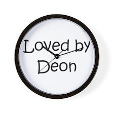 Cute Deon Wall Clock