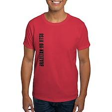 Brazilian Jiu Jitsu - Sideway T-Shirt