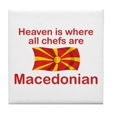 Macedonian Chefs Tile Coaster