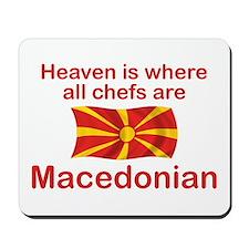 Macedonian Chefs Mousepad