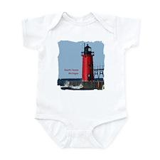 South Haven Lighthouse Infant Bodysuit