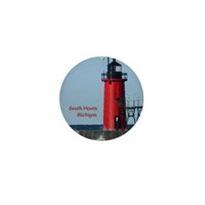 South Haven Lighthouse Mini Button (10 pack)