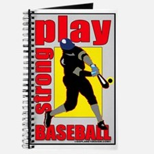 Baseball Play Strong Journal