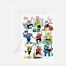Sports Celebration (Pack of 6)