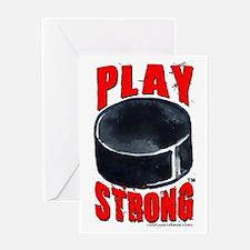 Hockey #1322 Greeting Card