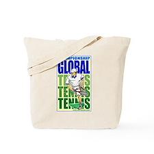 Tennis Global Tote Bag