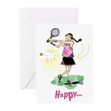 Tennis Birthday (Pack of 6)