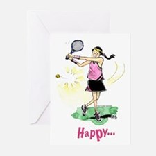 Tennis Birthday (Pack of 6)