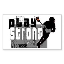 LAX STRONG Rectangle Decal