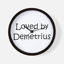 Unique Demetrius Wall Clock