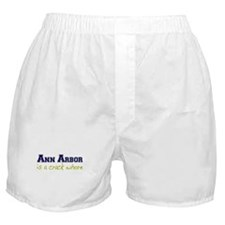 Ann Arbor is a Crack Whore Boxer Shorts