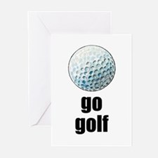 Golf #1175 Greeting Cards (Pk of 10)
