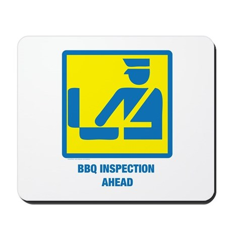 BBQ Inspection Mousepad