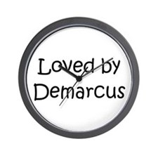 Cute Demarcus Wall Clock