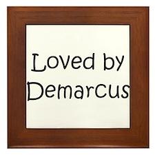 Cute Demarcus Framed Tile