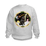 Night Flight/Newfie #2 Kids Sweatshirt