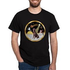 Night Flight/Lab (choc) #10 T-Shirt