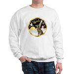 Night Flight/Greyhound (brin) Sweatshirt