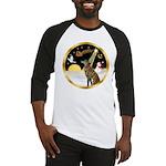 Night Flight/Greyhound (brin) Baseball Jersey