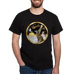 Night Flight/Greyhound (brin) Dark T-Shirt