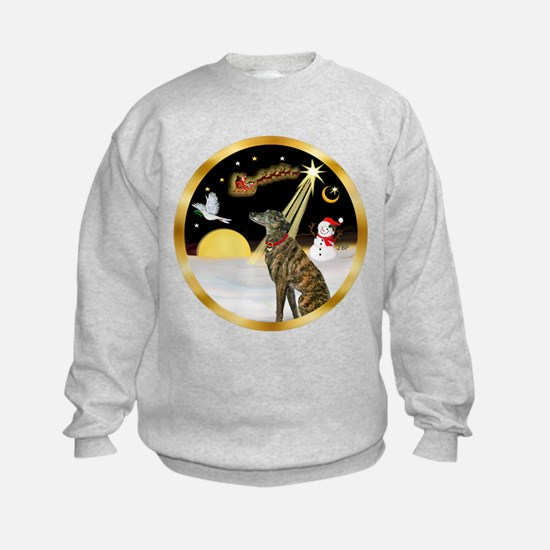 Night Flight/Greyhound (brin) Sweatshirt