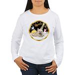 Night Flight/Cairn #4 Women's Long Sleeve T-Shirt