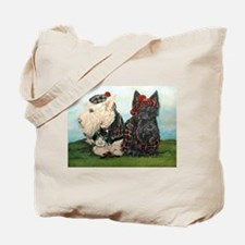 Scottish Highland Terriers Tote Bag