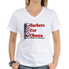 Barbers For Obama Shirt