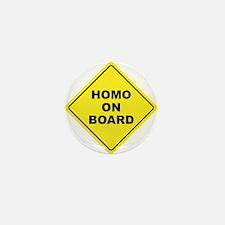 Homo on Board Mini Button (100 pack)