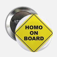 """Homo on Board 2.25"""" Button (10 pack)"""