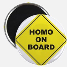 Homo on Board Magnet