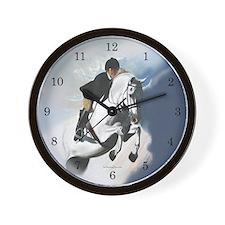 Jumper Horse Wall Clock