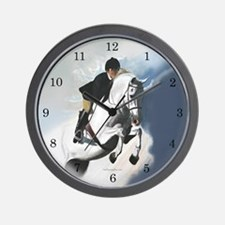 Jumper Horse Wall Clock