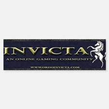Invicta Bumper Bumper Bumper Sticker