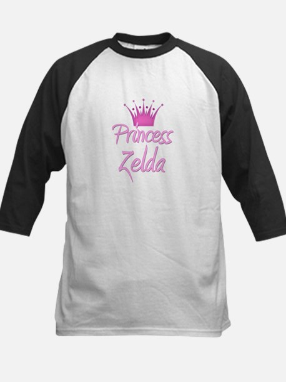 Princess Zelda Kids Baseball Jersey