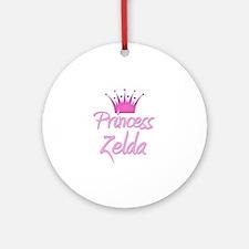 Princess Zelda Ornament (Round)
