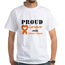 Caregiver Orange Ribbon Shirt