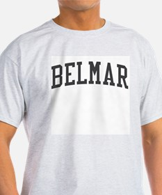 Belmar New Jersey NJ Black T-Shirt