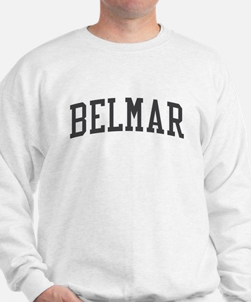 Belmar New Jersey NJ Black Sweatshirt