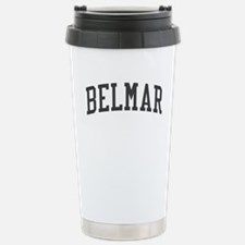 Belmar New Jersey NJ Black Stainless Steel Travel