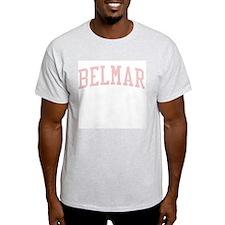Belmar New Jersey NJ Pink T-Shirt