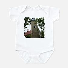 Eagle Bluff Lighthouse Infant Bodysuit